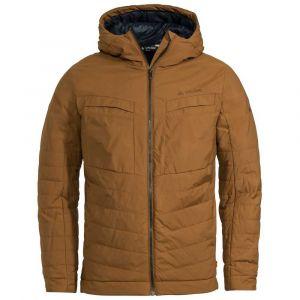 Vaude Men's Mineo Padded Jacket Veste Isolante matelassée pour la Vie Moderne de Tous Les Jours # Chaude # Fabrication écologique Homme, Umbra, FR : S (Taille Fabricant : S)