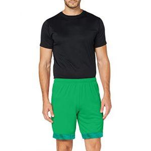 Puma Short de foot CUP pour Homme, Vert/Violet, Taille XL
