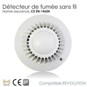 Révolution - Détecteur de fumée (certifiés CE EN 14604)