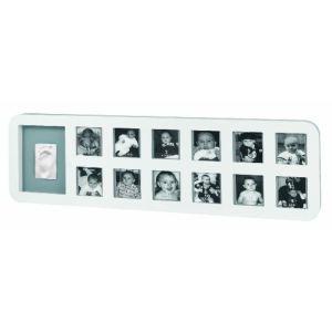 Baby Art Modern 1st Year - Cadre photo avec empreinte
