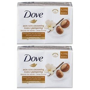 Image de Dove Mon Soin Cocooning - Pain de toilette au Beurre de Karité & Vanille