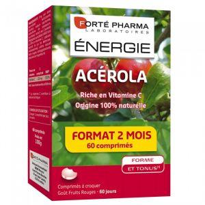 Forté pharma Energie acerola à croquer -  60 comprimés