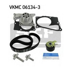 SKF Kit de distribution avec pompe à eau VKMC061343