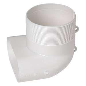 Aldes Coude mixte pour bouche Ø 80 mm 40x100 11023002