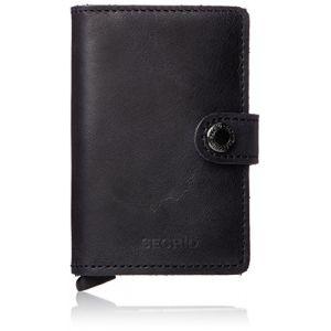 Secrid RFID Cardprotector Miniwallet black vintage
