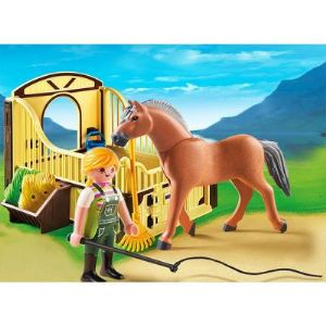 Playmobil 5517 Country - Cheval Fjord et monitrice