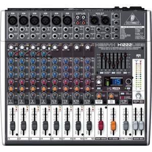 Behringer XENYX X1222USB - Table de mixage