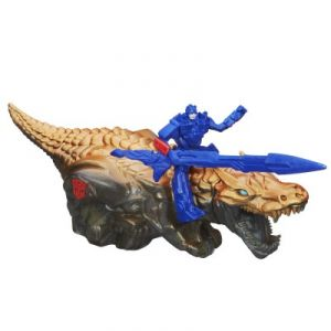 Hasbro Transformers Dinos étinceleurs Optimus Prime et Grimlock Dino