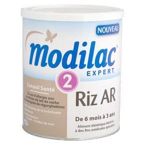 Modilac Expert Riz Anti-régurgitations 2ème âge 800 g - de 6 à 36 mois