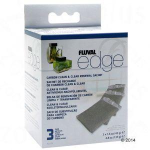 Fluval Lot 3 Recharges Charbon Gamme Edge