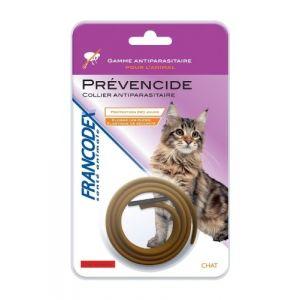 Francodex Collier anti-parasitaire Prévencide chat