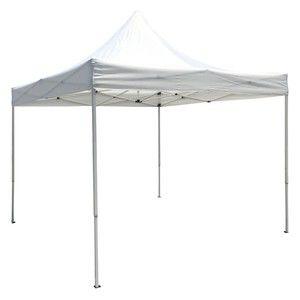 MobEventPro Tente de réception pliante blanche 3x3m 180g/m²