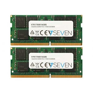 V7 16GB DDR4 PC4-17000 - 2133MHz SO-DIMM Module de mémoire - V7K1700016GBS