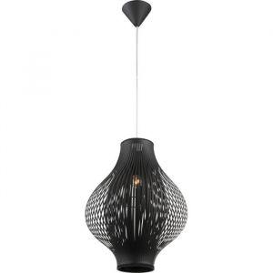 Globo Lighting Suspension GLOBO plastique noir