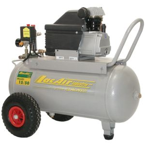Lacme MaxAir 15/50 - Compresseur monobloc 15 m³/h sur cuve 50 litres (461500)