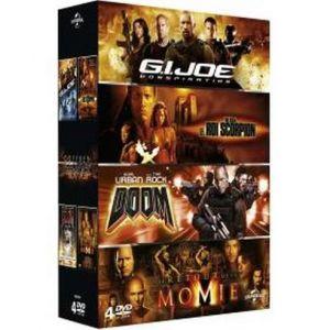 Coffret The Rock: G.I. Joe Conspiration + Le Roi Scorpion + Doom + Le retour de la Momie [DVD]