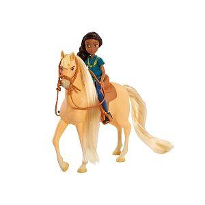 Giochi Preziosi Figurine Cheval 18 cm et Poupée 12 cm - Spirit - Abigaëlle & Boomerang