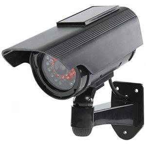 König SAS-DUMMYCAM90 - Caméra factice CCTV avec panneau solaire