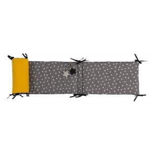 Moulin roty Tour de lit chats gris les moustaches