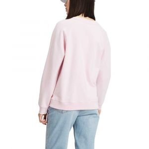 Levi's Relaxed Graphic Crew sweat Femmes rose T. L