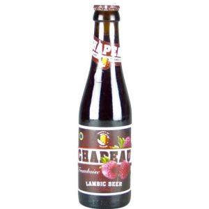 Brasserie de Troch Chapeau Framboise - Bière Ambrée Aromatisée - 25 cl - 3,5 %