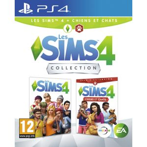 Les Sims 4 + Les Sims 4 Chiens et chats Collection PS4 [PS4]