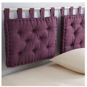 Adventex Coussin tête de lit à passant Star en coton (50 x 70 cm)