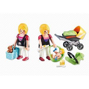 Playmobil 6447 - Femme enceinte avec maman et bébé