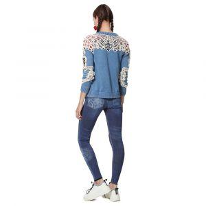 Desigual Collants NALA bleu - Taille S,M
