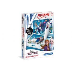 Clementoni Jeu interactif Disney Quizzy La Reine des Neiges 2