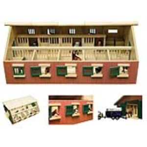 Kids Globe Écurie en bois avec 9 box