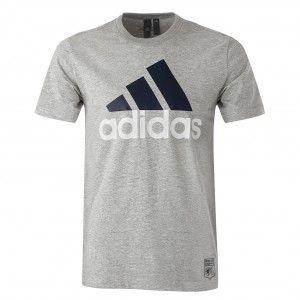 Adidas Essentials T-Shirt Homme, Medium Grey Heather, FR : XXL (Taille Fabricant : XXL)