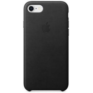 Apple Coque en cuir Noir iPhone 8 / 7