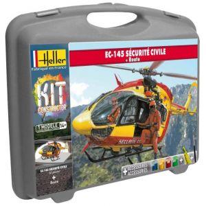 Heller Maquette Eurocopter EC-145 sécurité civile