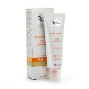 ROC Soleil protect - Fluide anti-âge illuminant SPF50+