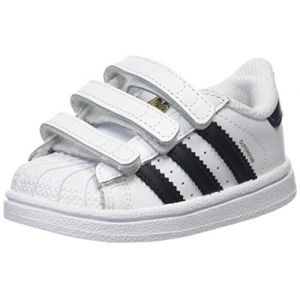Adidas Superstar CF I, Chaussures de Fitness Mixte Enfant, Blanc (Ftwbla/Negbas 000), 23.5 EU