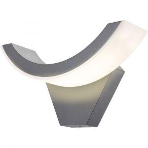 Esotec Applique murale LED extérieure SwingLine 201140 LED intégrée anthracite