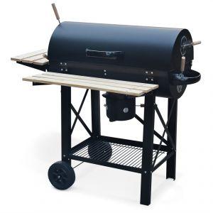 Alice's Garden Serge - Barbecue à charbon de bois et fumoir
