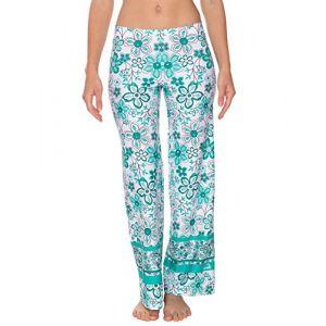 IQ-Company IQ 230, Vêtement Anti-UV Pantalon de Plage Femme, Caribéenne, FR : M (Taille Fabricant : M (40))