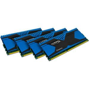 Kingston KHX18C9T2K4/16X - Barrettes mémoire HyperX Predator 4 x 4 Go DDR3 1866 MHz CL9 240 broches