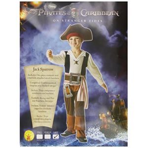 Déguisement Jack Sparrow Pirate des Caraïbes (7-8 ans)