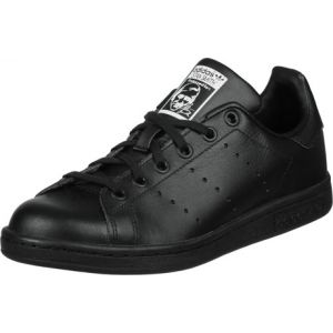 Adidas Stan Smith - Chaussures - Mixte Enfant - Noir (Black/Black/Footwear White 0) - 38 EU