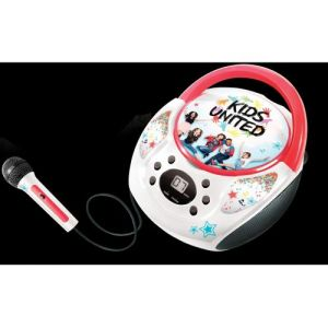 Canal Toys Boombox avec microphone Kids United