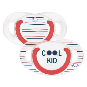 Bébé Confort 2 sucettes silicone Natural Physio Cool Kid 18-36 mois