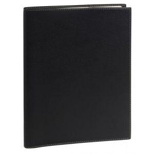 Quo Vadis 681005Q - Agenda 21x29,7 Note 29 S, avec répert., FR Club, coloris noir ébène
