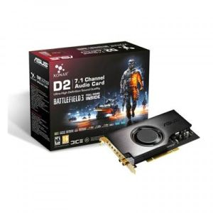 Asus Xonar D2/PM - Carte son PCI 7.1