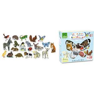 Vilac 8644 - 20 magnets les petits animaux