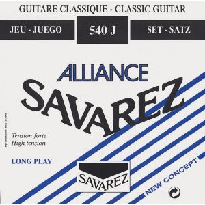 Savarez Alliance Bleu Tirant Fort 540J - Jeux de cordes nylon