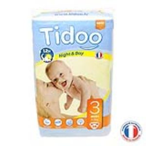 Tidoo Couches Jumbo Midi taille 3 (4-9 kg)