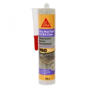 Sika Mastic colle multi-usages transparent - 350 g